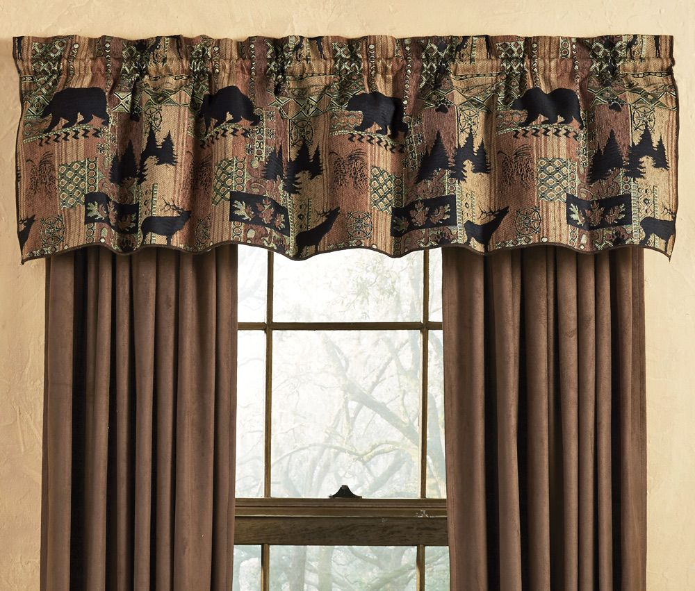 Rustic Curtains Cabin Window Treatments Are Often Chosen To Sensitive  Notable, Clever, And Elegant Look To The Room Under Co