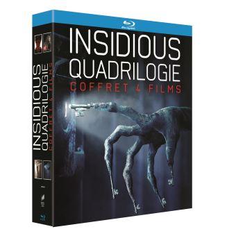 Coffret Quadrilogie Insidious Blu-ray #bluray Coffret Quadrilogie Insidious Blu-ray - Blu-ray - Achat & prix | fnac #bluray