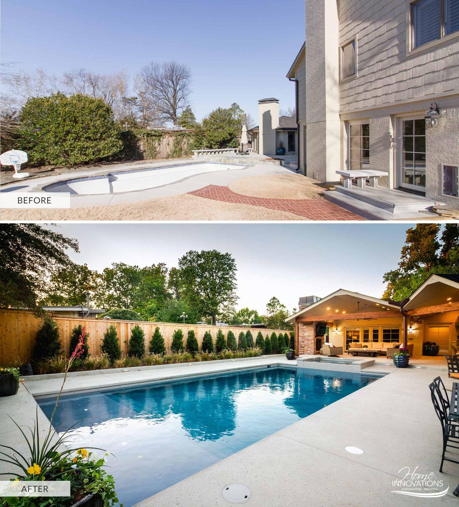 Outdoor Living Remodel Tulsa Ok Pool Remodel Backyard Remodel Swimming Pools Backyard