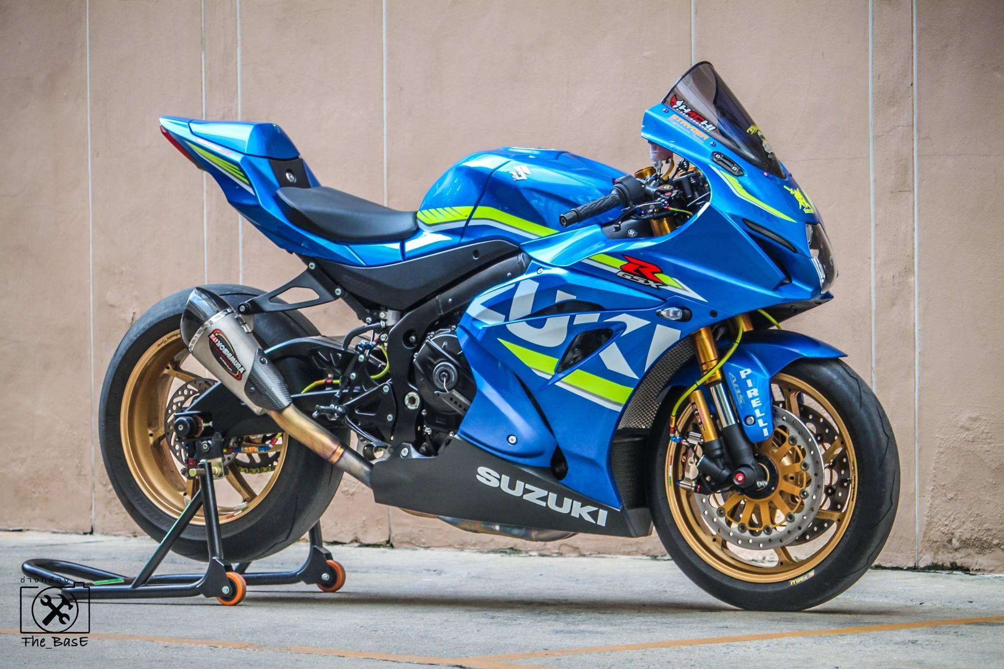 Bigwheel Thailand Super Bikes Suzuki Motorcycle Sportbikes