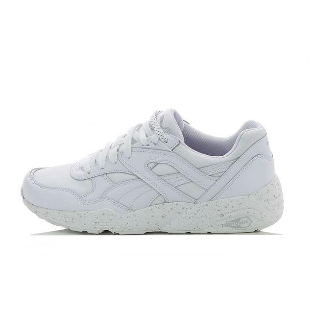 puma r689 blanche