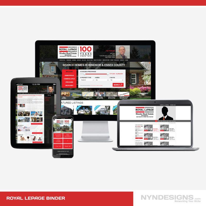 Royal LePage Binder http://www.nyndesigns.com/web-designer-developer-portfolio/website-37/royal-lepage-binder-brokerage