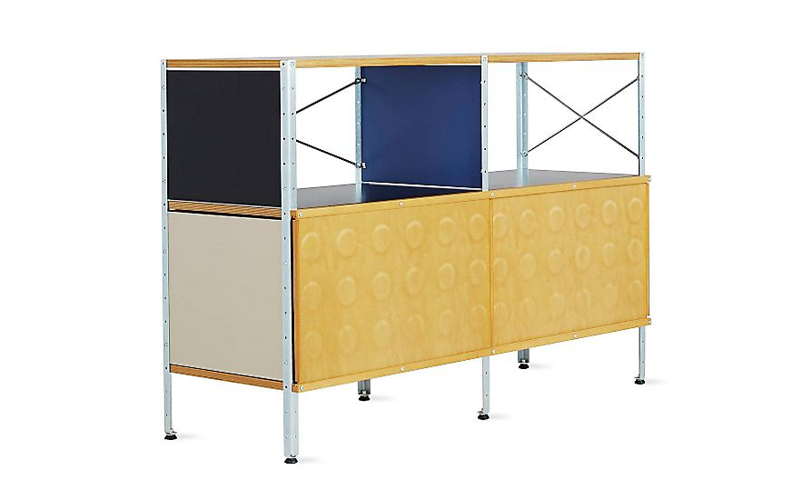 Charming Eames® Storage Unit, 2x2 With Doors