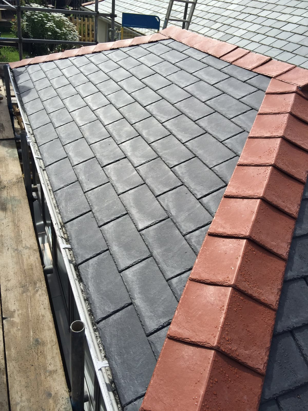 Ags Windows Newton Abbot Edwardian Tiled Roof