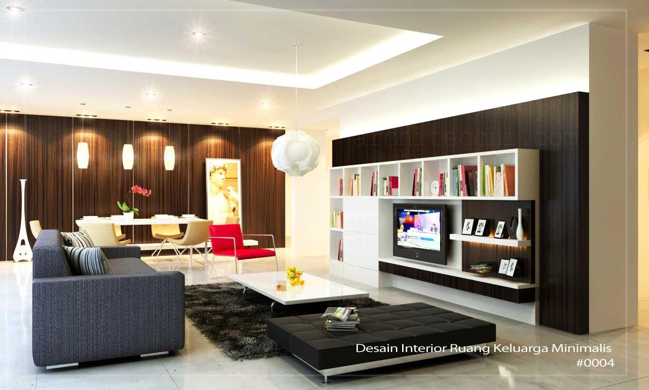 Arsitek Interior Ruang Keluarga  Minimalis Home Design