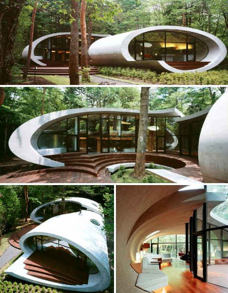the shell house by architect kotaro ide tunnel house pinterest architects shells and house