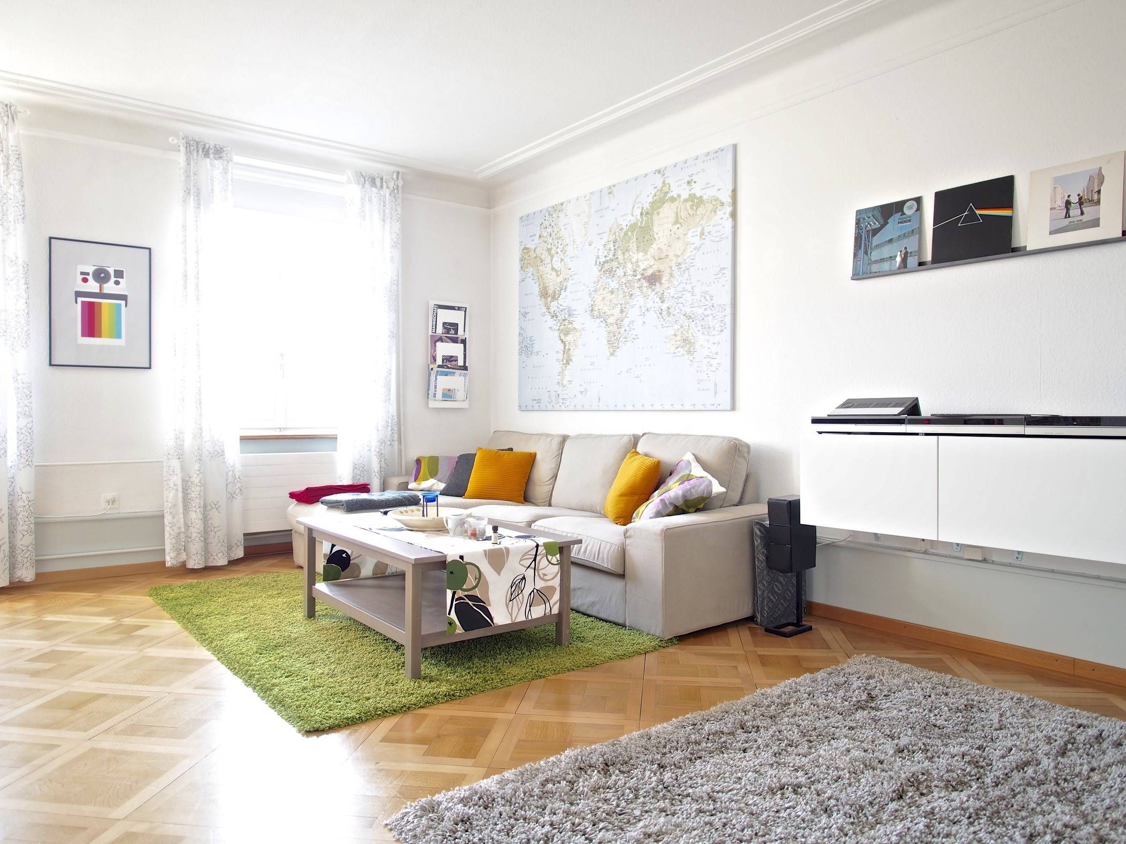 How I Decorate My Living Room - Living-room | Modern Contemporary ...