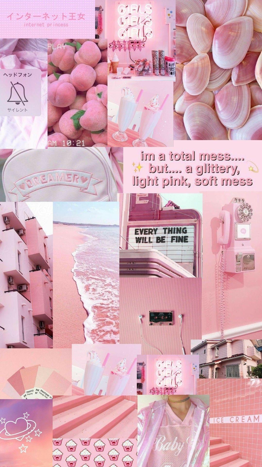 Pin Oleh Kry Kry Di Pink Warna Koral Poster Bunga Karya Seni Kopi