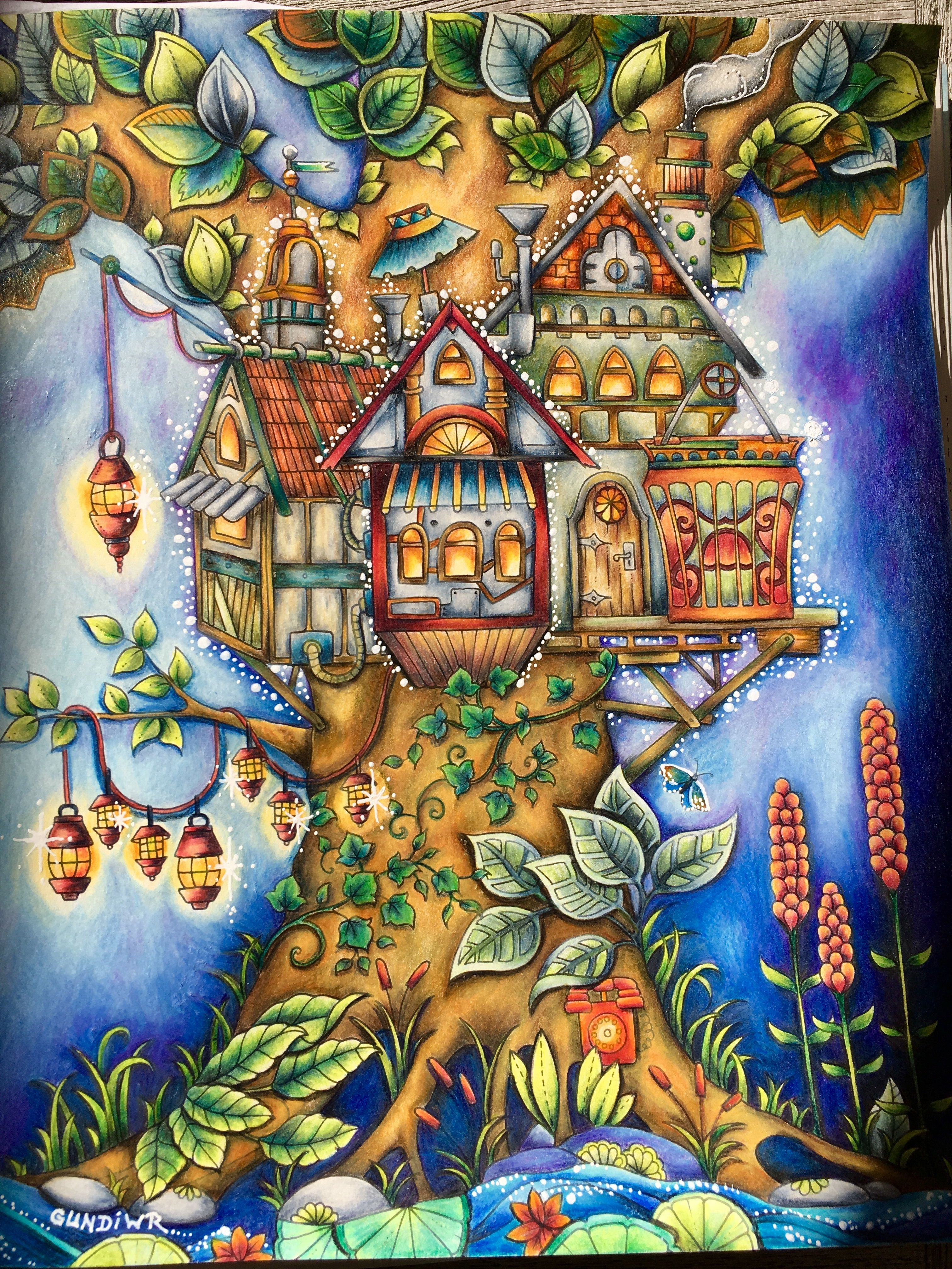 Pica S Treehouse Ivy And The Inky Butterfly Johanna Basford