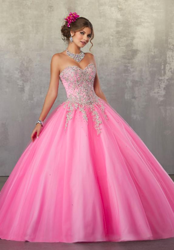 Vestidos de quinceañera rosas 2018 Mori Lee   vestido fiesta ...