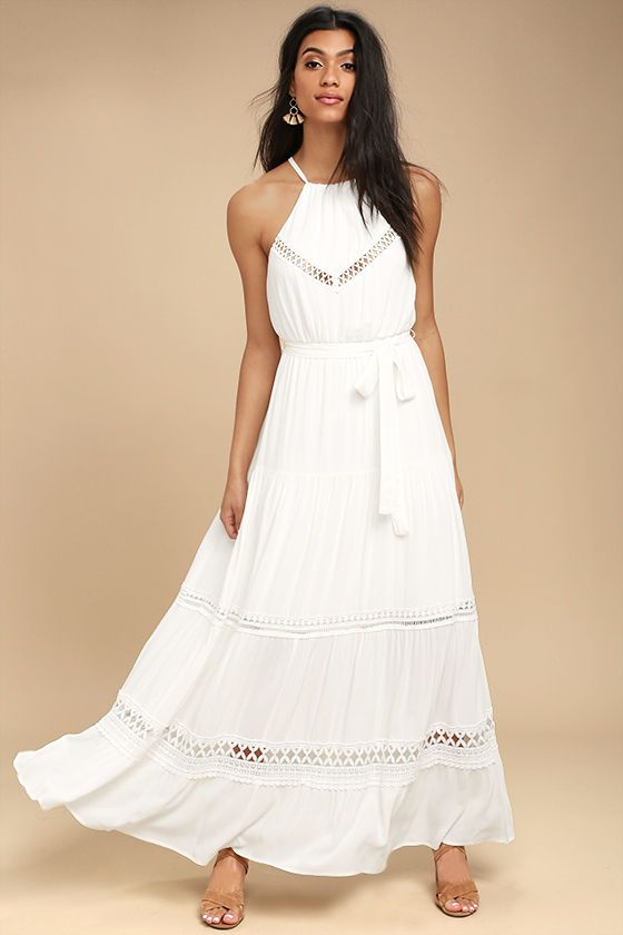 74be17c1a4e41 Some Kind of Wonderful White Lace Maxi Dress | Future Purchases ...