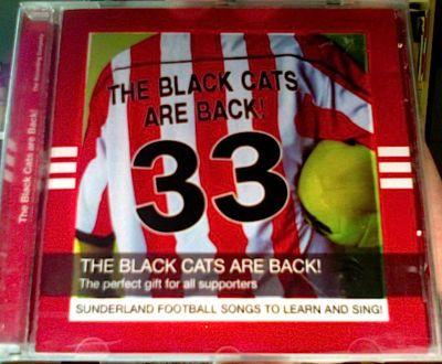 rare SUNDERLAND UK Football 2006 Black Cats Are Back! 11trk CD *vg EU Soccer