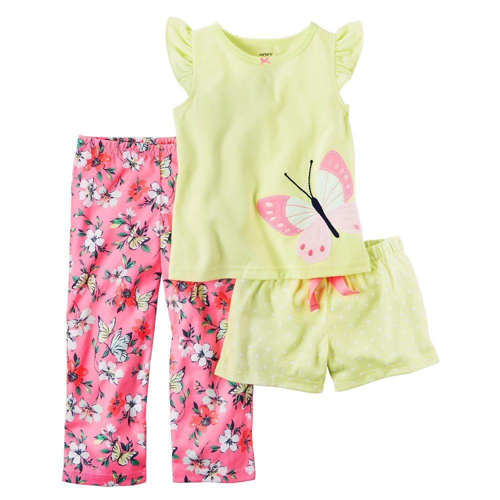 72a48833c Girls 4-14 Carter s Nature Pajama Set