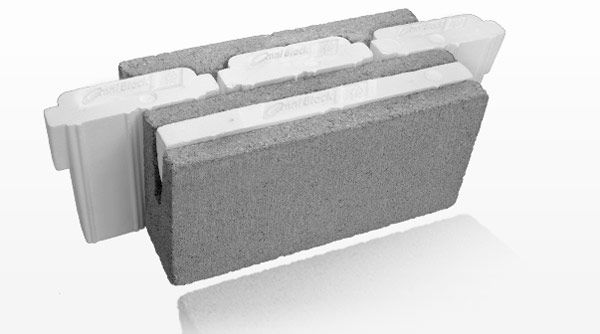 New Insulated Stand Alone Concrete Wall System Omni Block Video Concrete Wall Concrete Design House Designs Exterior