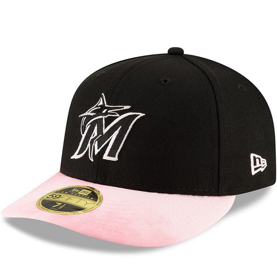 3f1de8809 Miami Marlins New Era 2019 Mother s Day On-Field Low Profile 59FIFTY Fitted  Hat -
