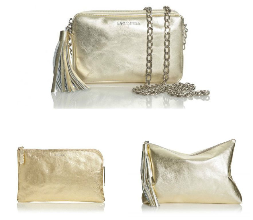 Moncler Clutches oro