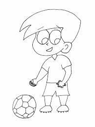 Resultado de imagen para colorear niño futbolista | cumpleaños