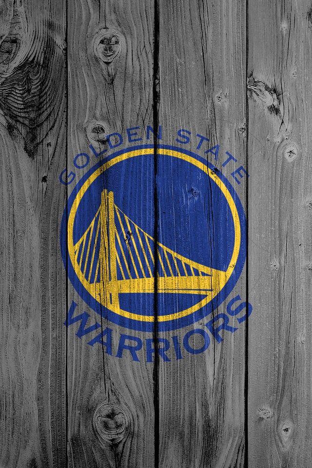 Warrior logo on fence Golden state warriors wallpaper