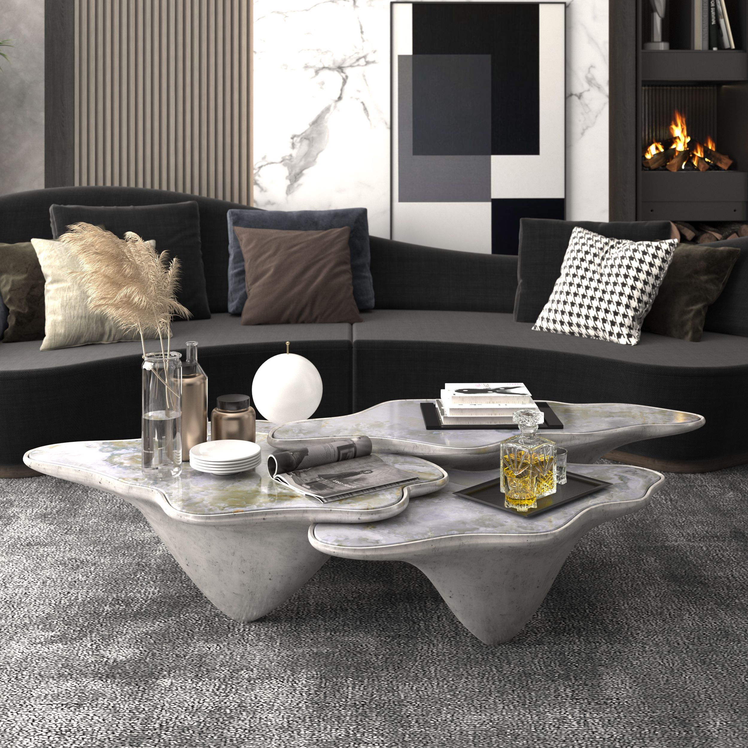Trendy Coffee Table Ideas For The Modern Minimalist Trendy Coffee Table Minimalist Coffee Table Coffee Table Design [ 1192 x 1000 Pixel ]