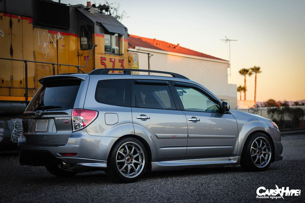Subaru Forester Sti Build