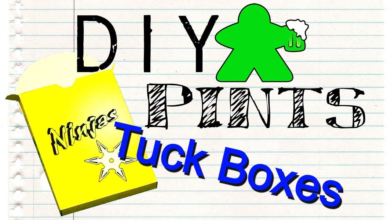 DIY Pints - Tuck Boxes