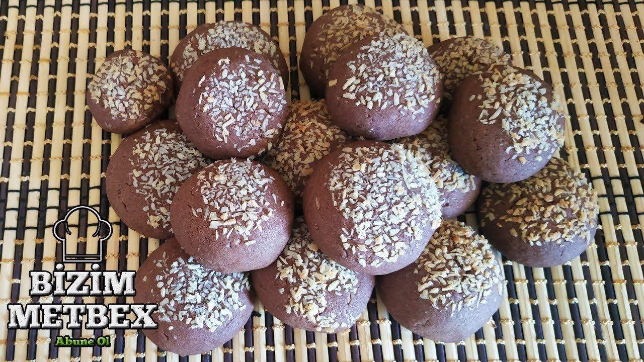 Cok Kolay Kakaolu Kurabiye Tarifi Lezzetli Basit Yumusak Hindistan Cevi Breakfast Food Muffin