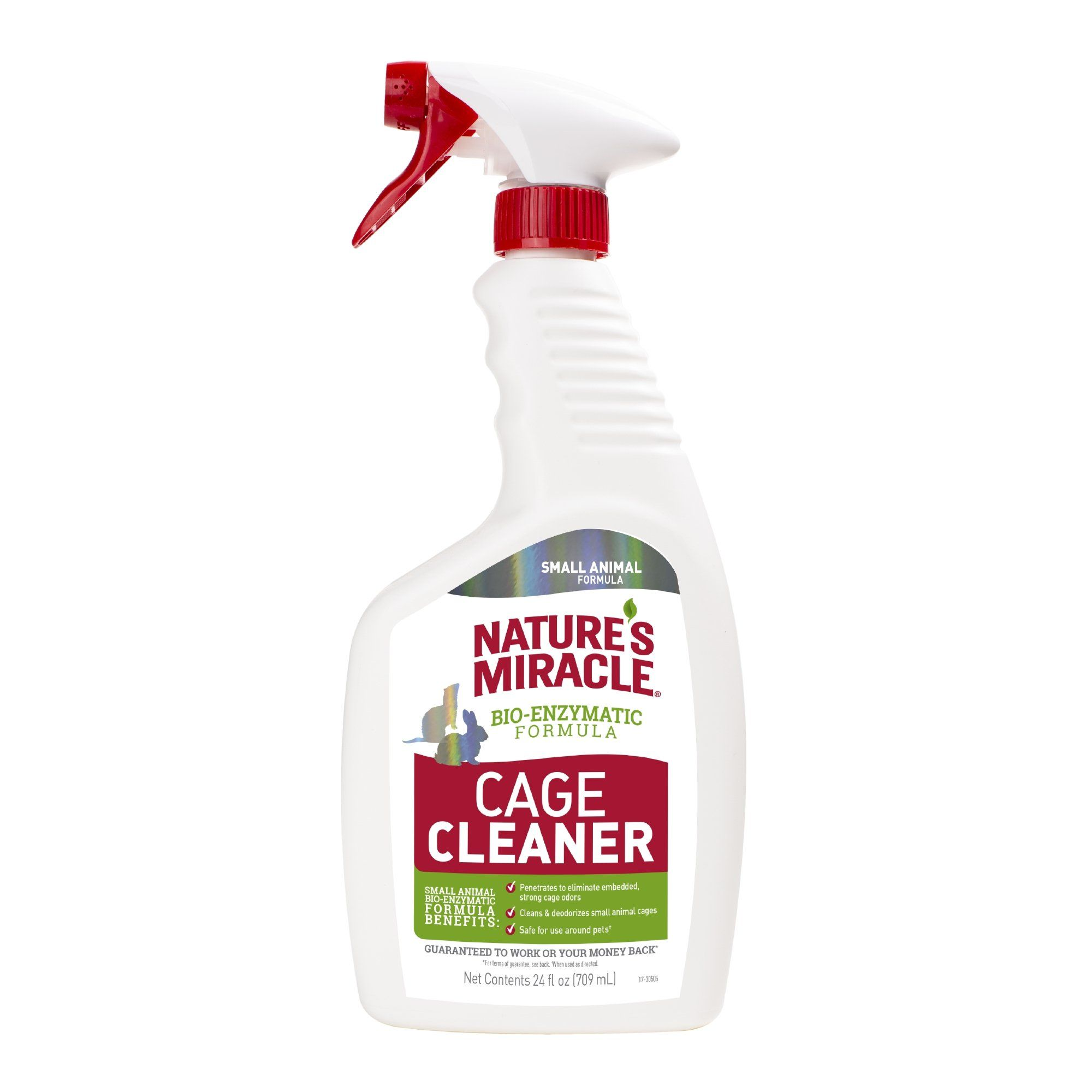 Nature's Miracle Cage Cleaner for Small Animals, 24 fl. oz