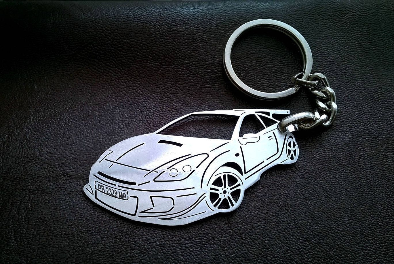 Toyota celica toyota personalized key chain toyota tacoma custom keychain stainless steel