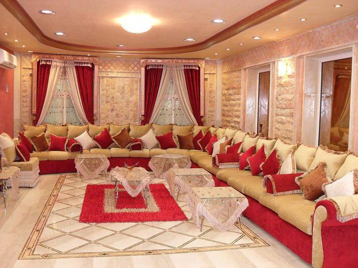 تصميم مجالس عربية متصلة مميزة Living Room Design Modern House Interior Decor Small House Design Exterior