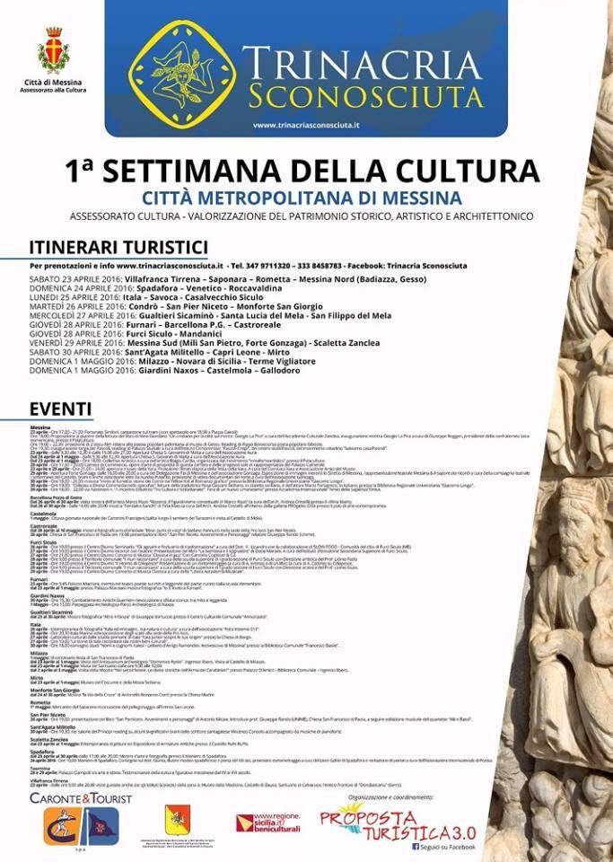 Trinacria Sconosciuta - Settimana della Cultura
