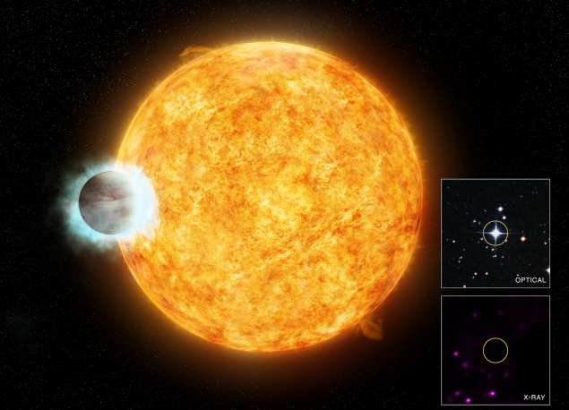 This Massive Planet Is Causing Its Parent Star To Age Prematurely