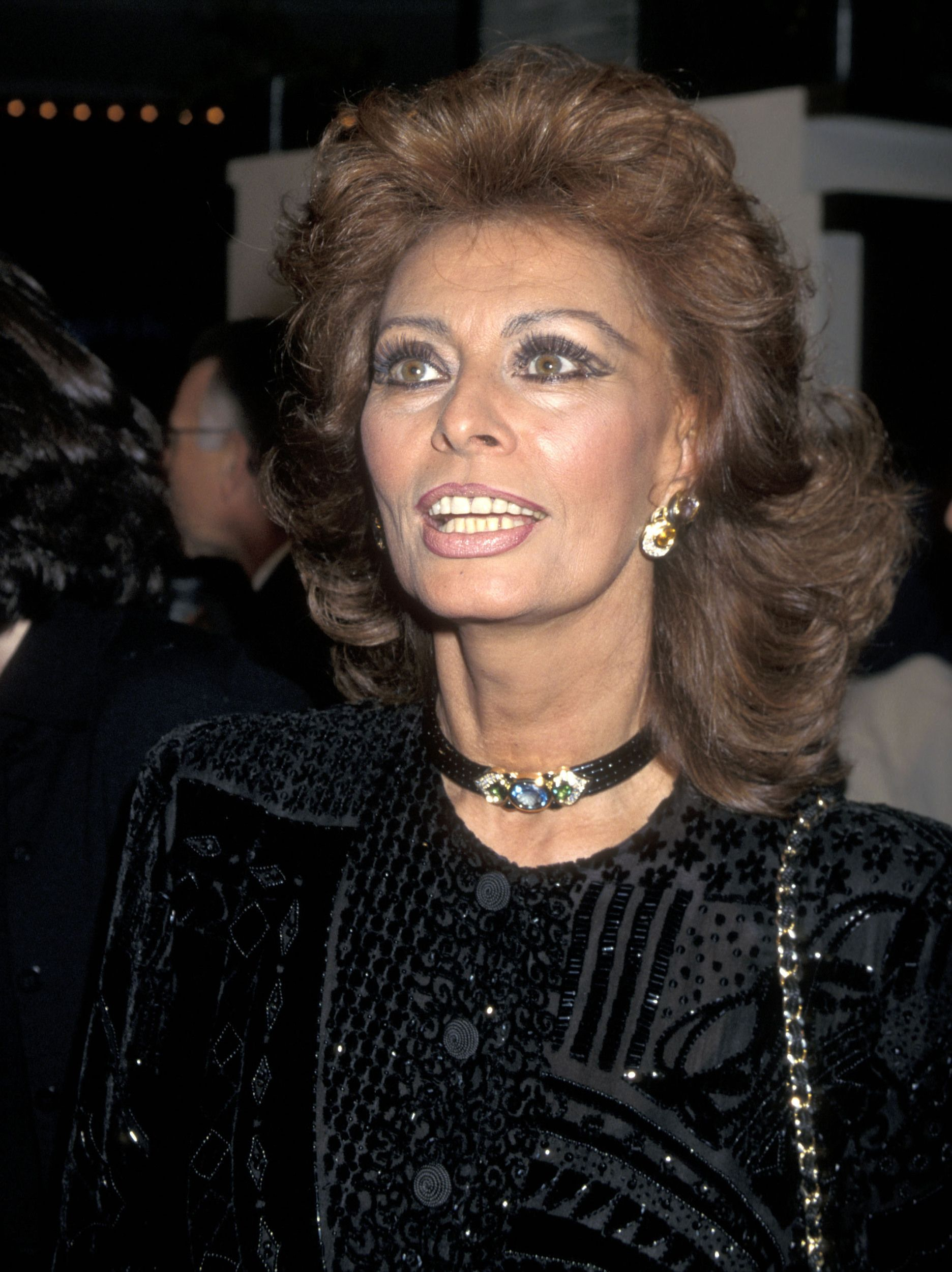 Sophia Loren Then And Now Sophia Loren Sofia Loren Italian Actress