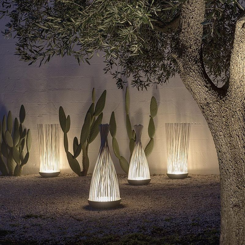 Outdoor Free Standing Lamps Don T Touch Garden Exterior