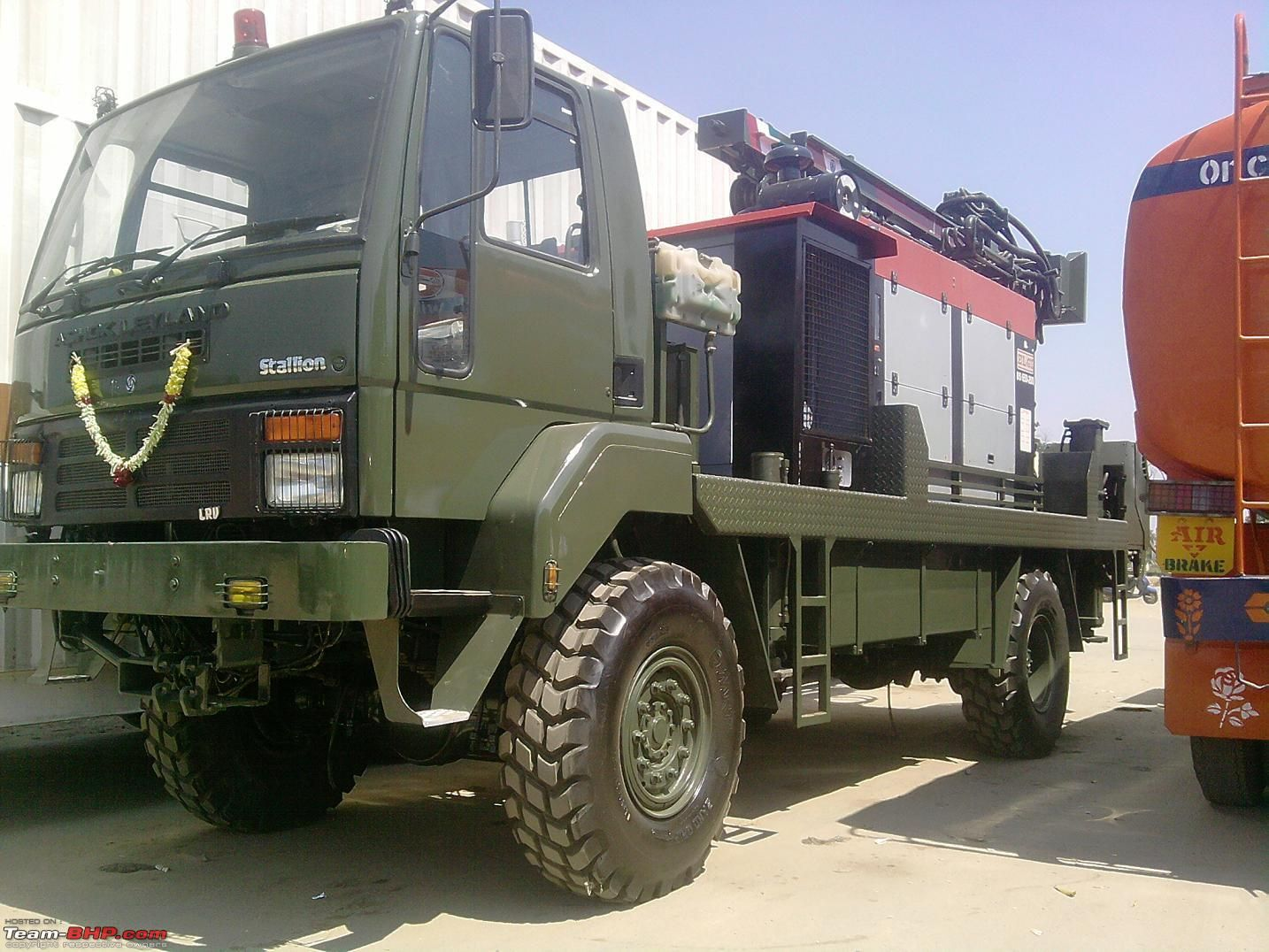 ASHOK LEYLAND STALLION Indian Army Army truck