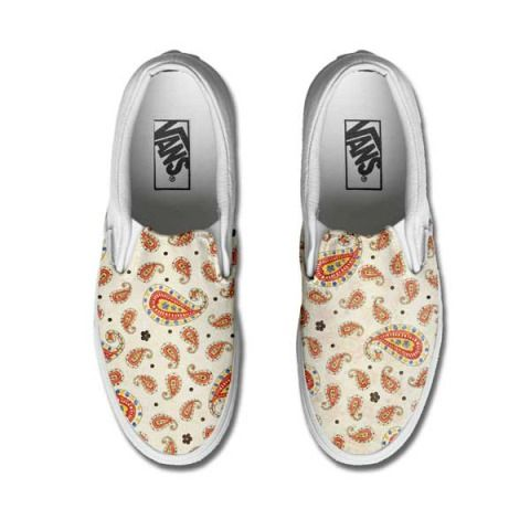 Vans Customized SUMMER PAISLEY only www.makeyourshoes.eu