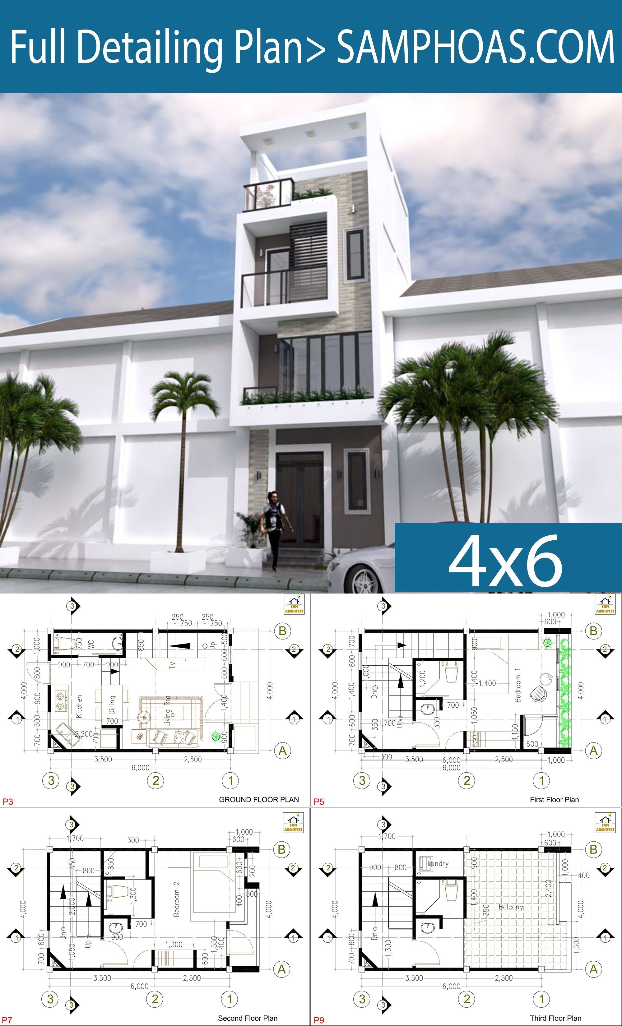 4x6 . room plan