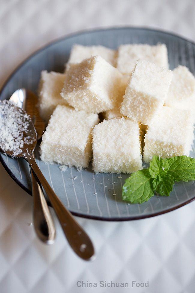 Coconut Milk Pudding Thai Recipes Dessert Asian Desserts Coconut Pudding