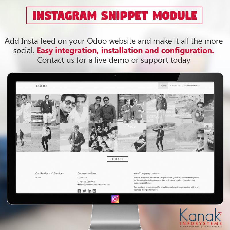 Sync Your Insta Images With Your Website To Make It More Engaging Social Friendly Increase Your Traffic On So Instagram Feed Ecommerce Solutions Insta Image