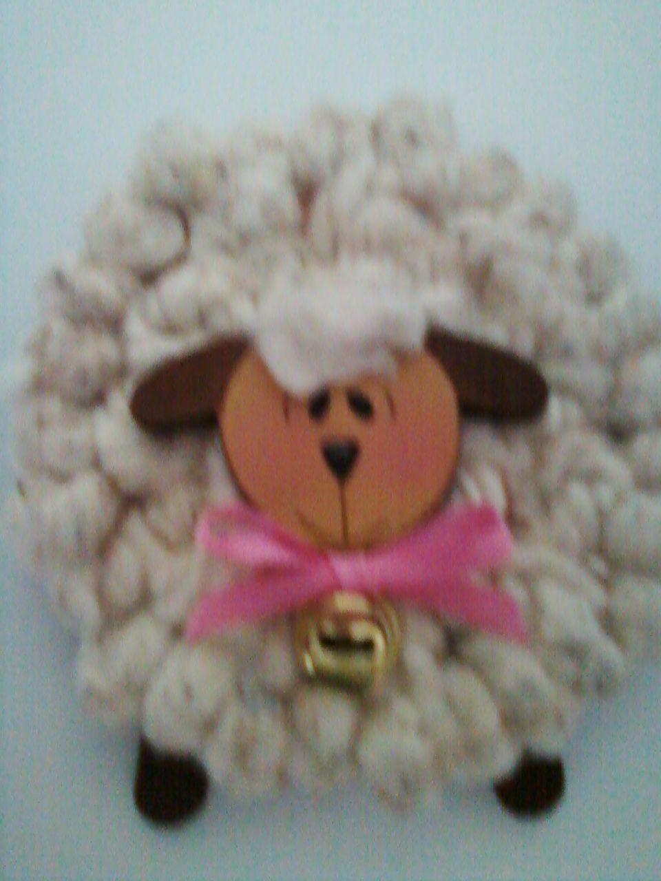 Souvenir de borreguito by manualidades jazz baby for Manualidades souvenirs navidenos