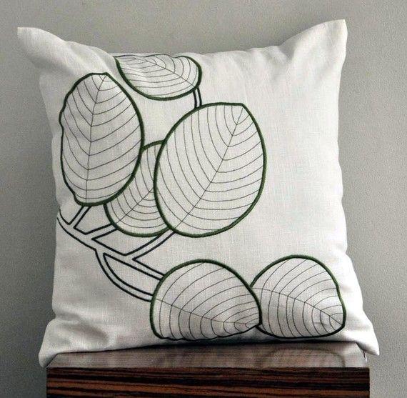 Throw Pillow Cover Decorative Cream Cushion Por Kainkain