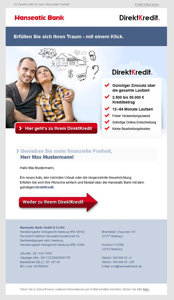 Newsletter Design Fur Hanseatic Bank Gmbh Co Kg Newsletterdesign Email Emailmarketing Newsletter Design Templates Newsletter Design Newsletter Templates