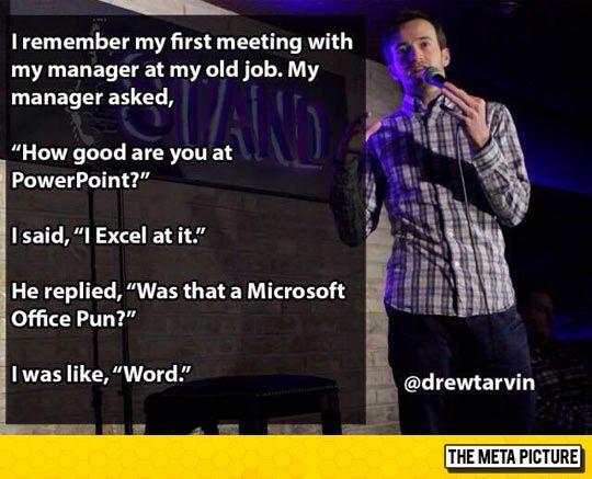 Hilariousness!