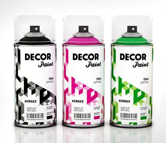Acrilex decor paint.