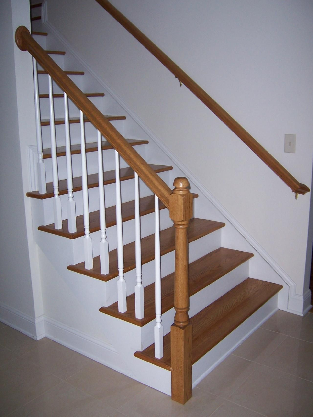 Best Railing Spindles And Newel Posts For Stairs Google 400 x 300