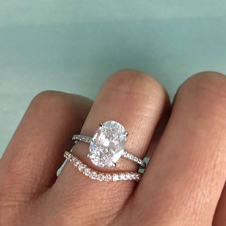 Instagram Photo By Trabert Goldsmiths Apr 11 2016 At 2 46pm Utc Oval Diamond Engagement Ring Thin Band Engagement Ring Oval Diamond Engagement
