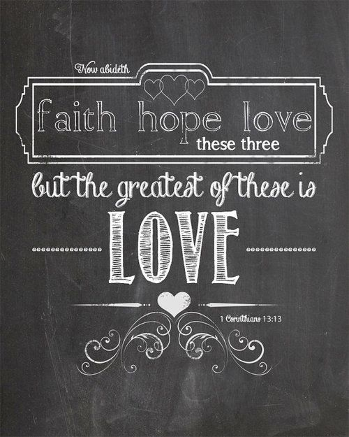 Download Love Faith Hope Quotes | Homean Quotes