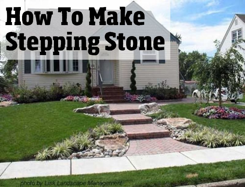 5 Ways to Make DIY Stepping Stones Molds #steppingstonespathway