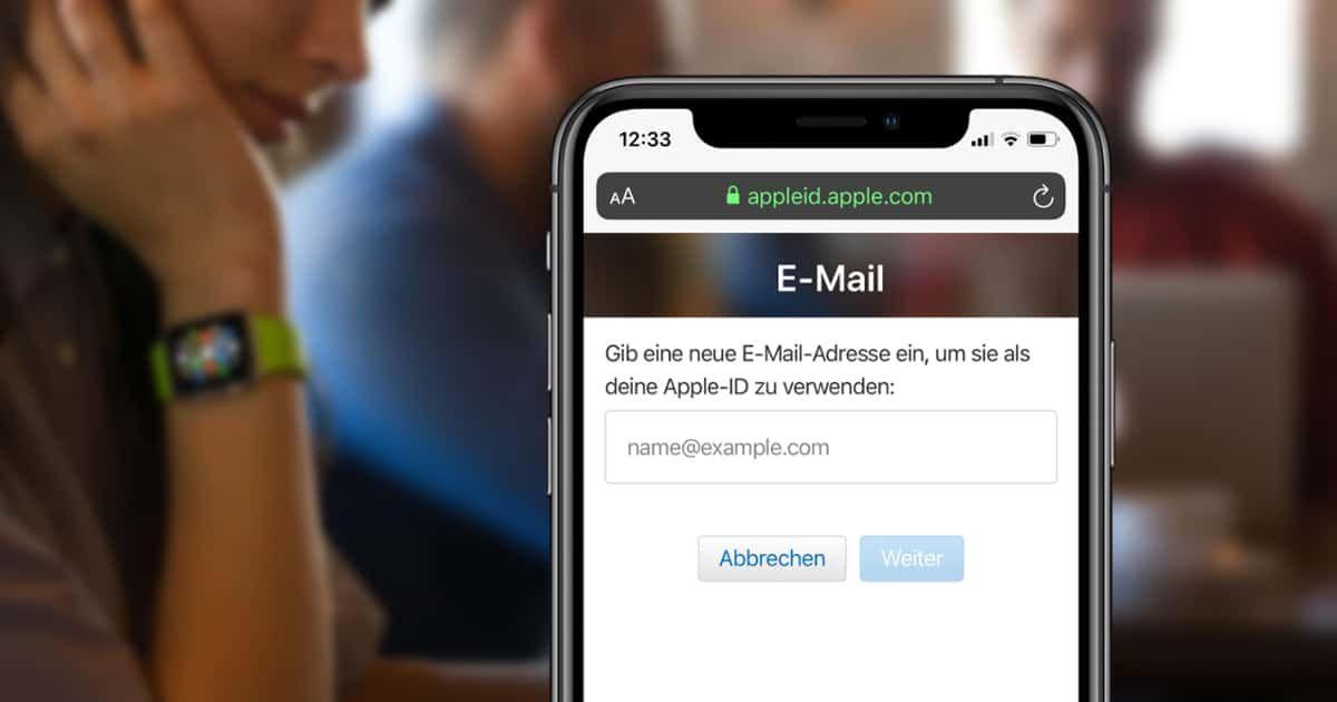 Apple Id Mail Adresse Andern Mit Bildern Mail Adresse Adressen Iphone