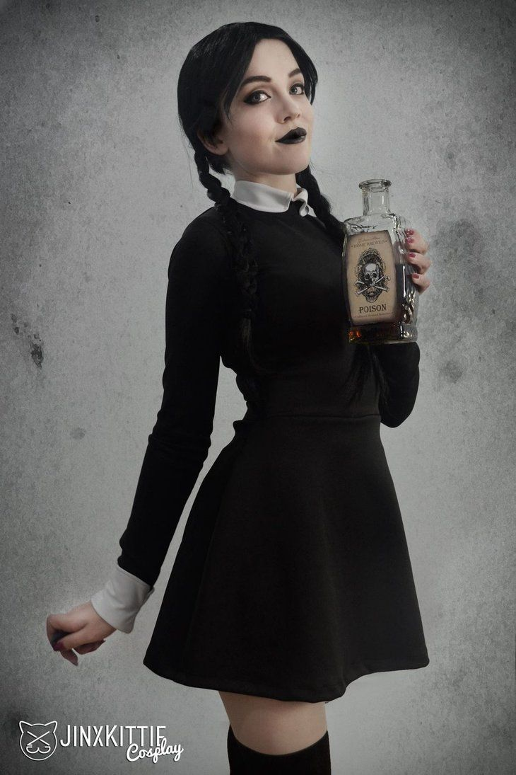 Character Wednesday Addams From The Family Cosplayer Kelsey Atkins Aka Jinxkittie Cosplay Photo 2016