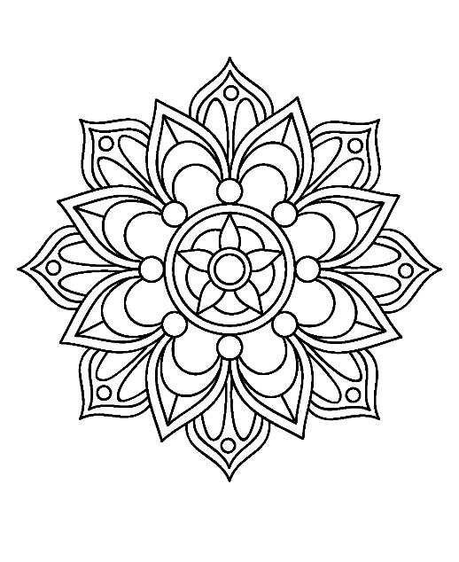 Chaleco Tejido Nina 4 Ano Mandalas Arte Bordado Mandalas Imagenes De Mandalas